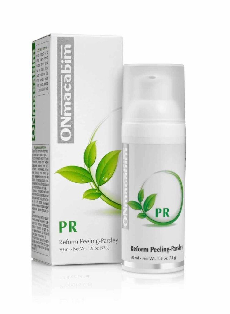 Reform Peeling Parsley פילינג משקם - פטרוזיליה